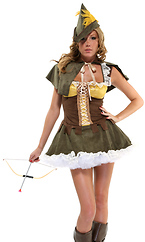Sexy Robin Hood Costume - Sassy Swindler by Forplay