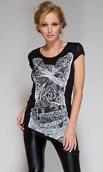 Carolina - Screen Print Shirt by Forplay