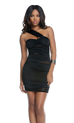 Rimini - One shoulder sexy dress by Forplay