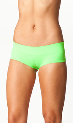 NEON SOLID BOOTY SHORTS WITH BAND