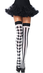 Harlequin Thigh Highs by Leg Avenue by Leg Avenue