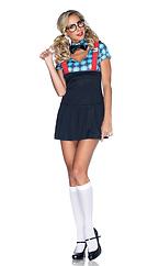 4 PC Naughty Nerd Costume