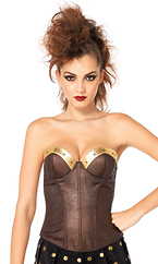 Warrior Amore Bustier With Stud Accents
