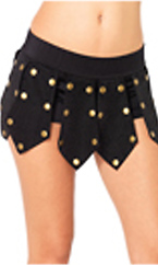 Warrior Studded Panel Boyshorts