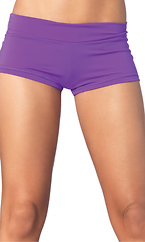 Spandex boy shorts short
